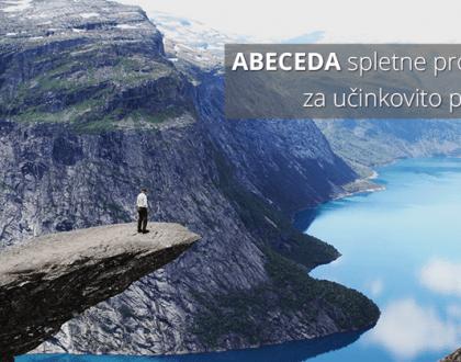 ABECEDA spletne prodaje - štirje nasveti za boljše rezultate